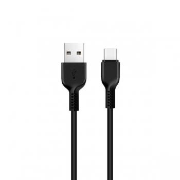 Кабель USB Type-C Hoco X20 Flash 1m (черный)