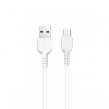Кабель USB Type-C Hoco X20 Flash 1m (белый)