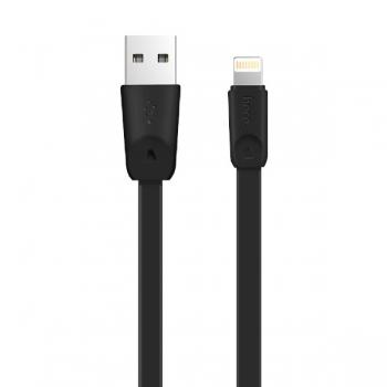 Lightning USB кабель 2m Hoco X9 для iPhone, iPad (черный)