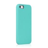 Чехол Rock Vogue Series для iphone 5/5S кожаный (blue)