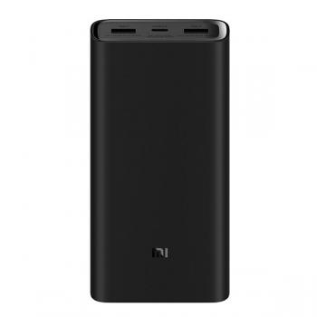 Внешний аккумулятор Xiaomi Power Bank 3 Pro  20000 mAh (PLM07ZM), черный