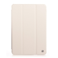 Чехол для iPad Mini HOCO Crystal Pu Leather case (белый)