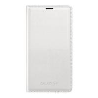 Чехол Samsung Flip Wallet для Galaxy S5 EF-WG900BWE белый
