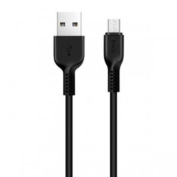Кабель micro USB Hoco X20 1m (черный)
