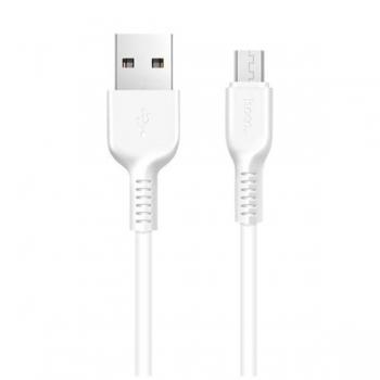 Кабель micro USB Hoco X20 2m (белый)
