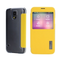 Чехол Rock elegant series для Samsung Galaxy S5 (yellow)
