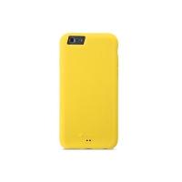 Чехол Melkco Silikonovy для iPhone 6 силиконовый (yellow) + пленка