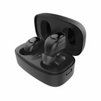 Bluetooth гарнитура Беспроводные стерео наушники-гарнитура Elari EarDrops, черные