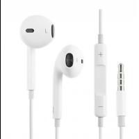 Гарнитура Apple EarPods 3.5 мм (MNHF2ZM/A) с управлением громкостью и микрофоном, белый