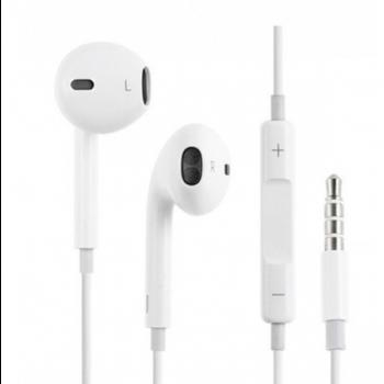 Наушники Гарнитура Apple EarPods (MNHF2ZM/A) с разъемом 3.5 мм, белый