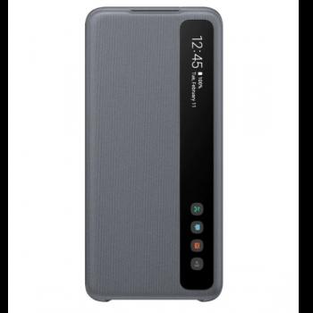 Чехол-книжка Samsung EF-ZG980CBEGRU Smart Clear View Cover для Galaxy S20, серый