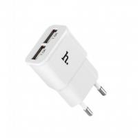 Сетевая зарядка Hoco UH202 Double USB Charger