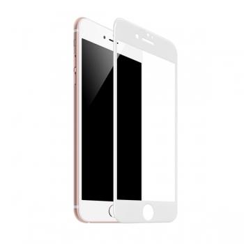 Защитное стекло для iPhone 6/6S - 3D Glass  белый