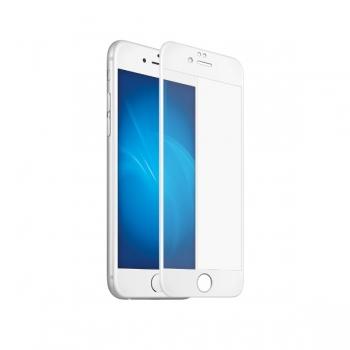 Защитное стекло для iPhone 8 Plus - 3D Glass  белый