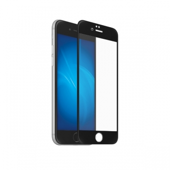 Защитное стекло для iPhone 7 - 3D Glass (black)